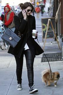 Mischa Barton Converse Celebrity Style Women's Fashion