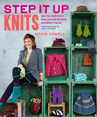 I Heart Craft Books: Step It Up Knits, by Vickie Howell