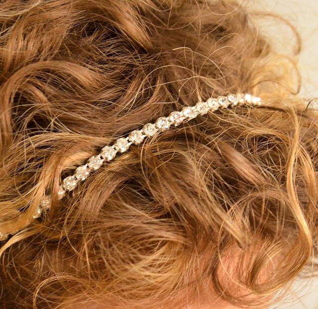 DIY Rhinestone Headband