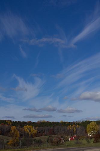 sky usa clouds landscape farm creativecommons wi ironton artdtour fermentationfest