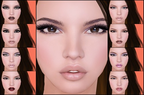 LOGO | Chloe Mesh Head | Makeups
