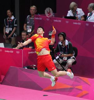 Fu Haifeng, Men's Doubles Badminton Final
