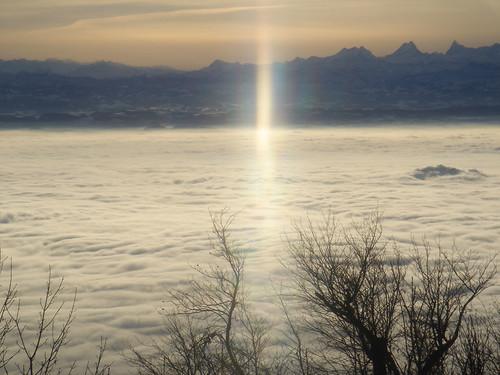 schnee winter landschaft endloslinienalpenpanorama