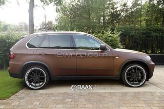 BMW E70 F15 X5 22 inch ADV1 wheels