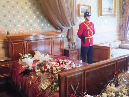 Atatürk halálos ágya