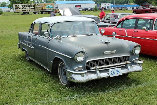 1955 chevrolet belair 4 door flickr photo sharing for 1955 chevy belair 4 door value