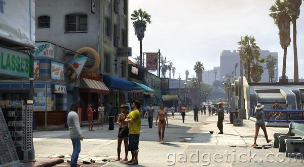 Второй трейлер GTA 5