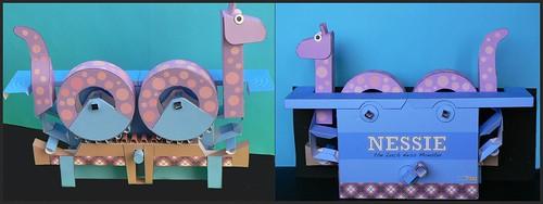 Nessie Vorder- und Rückseite
