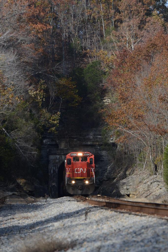 Ozark Autumn at Tunnel #3