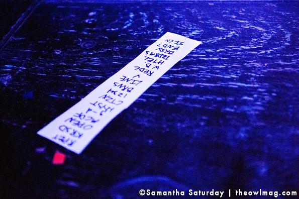 Ceremony @ Constellation Room, Santa Ana 11/09/2012