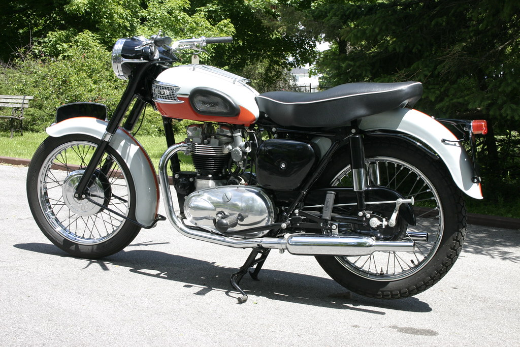 1959 Triumph Bonneville For Sale This Stunning Example Was Flickr