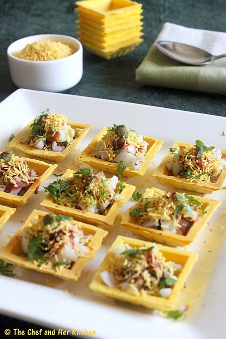 canapes recipe indian images