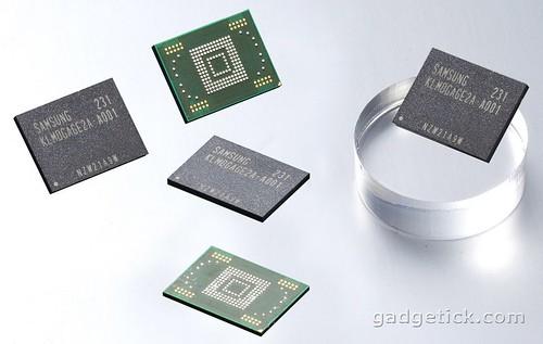 чипы на 64 Гб памяти