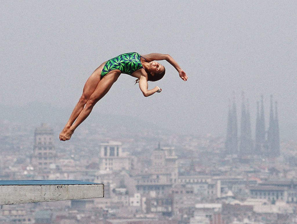 1992 BARCELONA OLYMPIC GAMES-DIVING