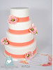 W9126 - pink poppy wedding cake toronto