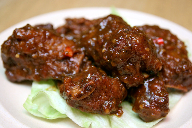 Mongolian Spare Ribs from Dian Xiao Er