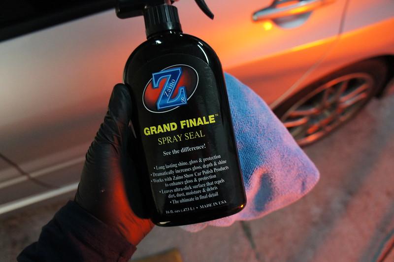 Mitsubishi Evo FQ Enhancement Detail Presented In Zaino Z - Show car ultra shine detail spray