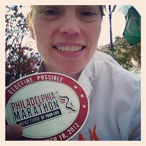 Officially a Marathoner #redefinepossible
