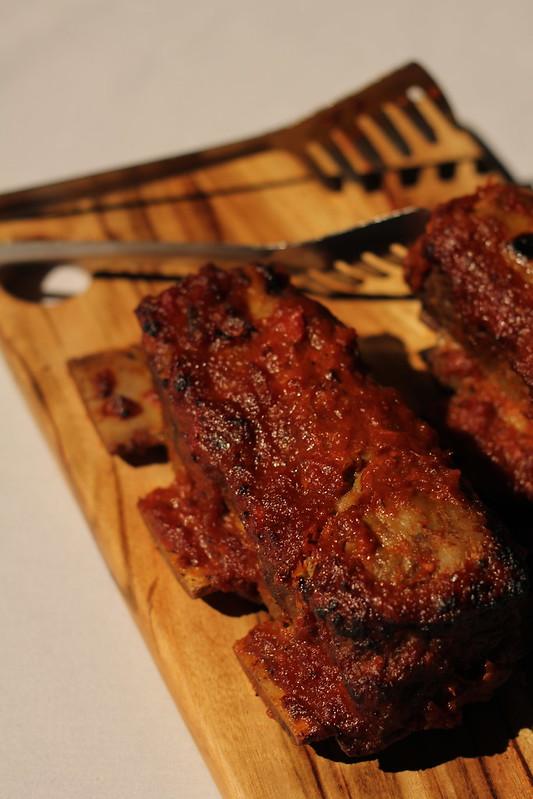 Smoky beef ribs