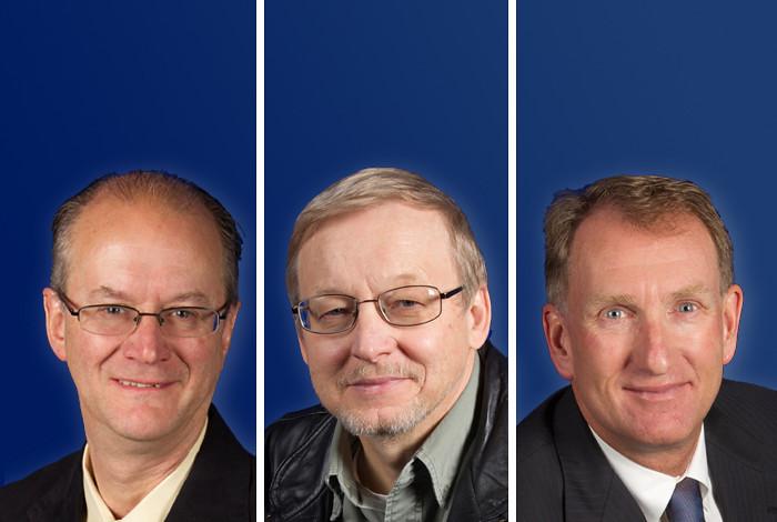 Steven Elliott, Mikhail Shashkov and Charles Farrar