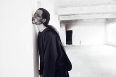 [フリー画像素材] 人物, 女性, モノクロ ID:201211241400