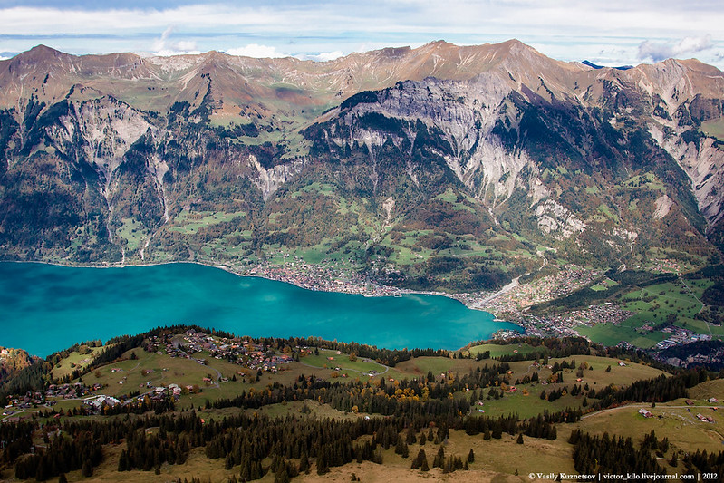 Brienz from above