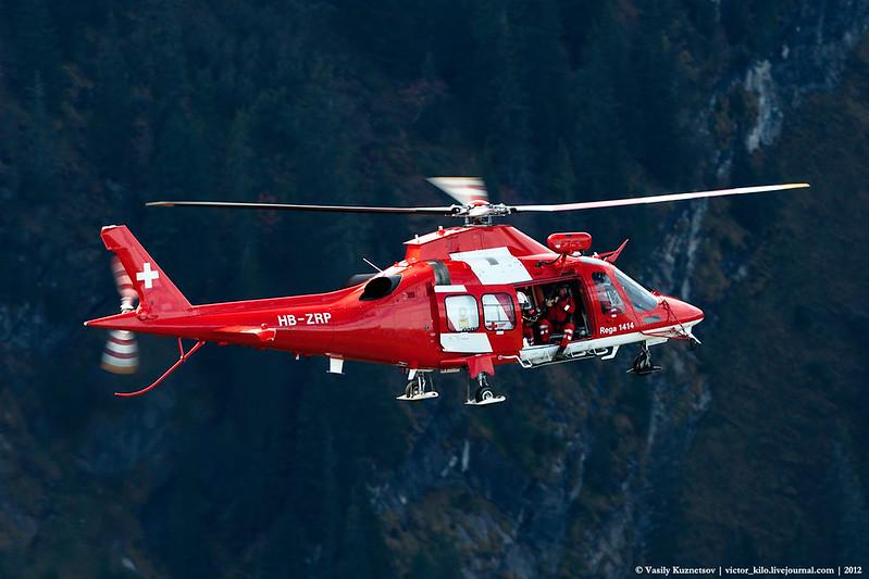 REGA - Swiss Air Ambulance AgustaWestland AW-109SP GrandNew