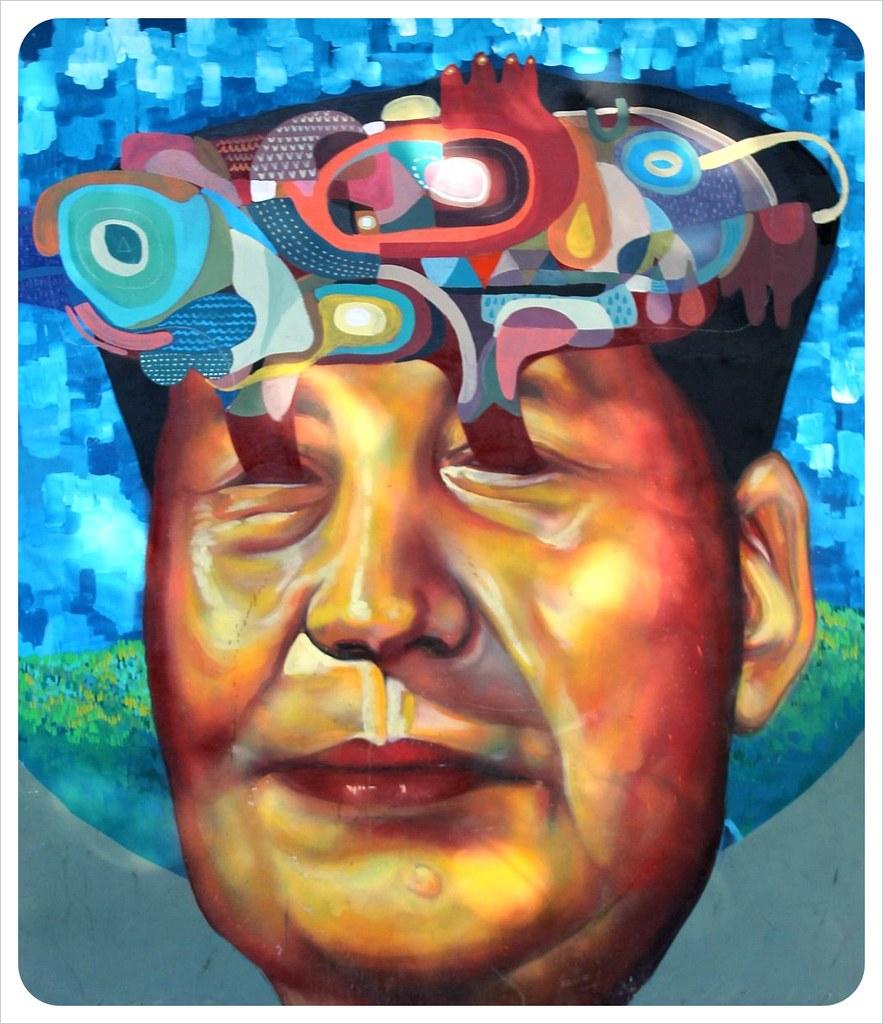 buenos aires street art mao zedong