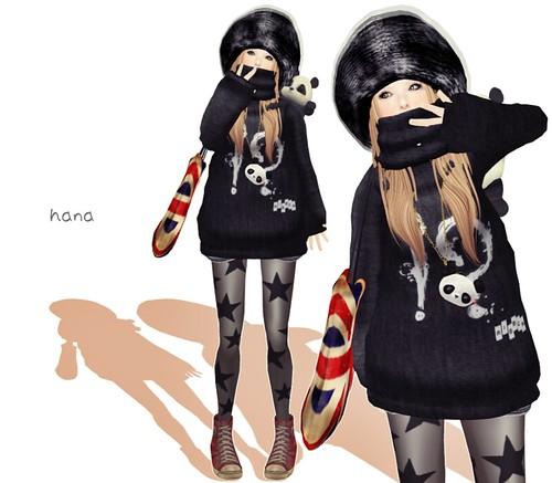 Volume knit①