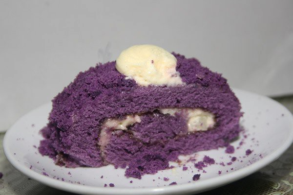 Moist Ube Macapuno Cake Recipe