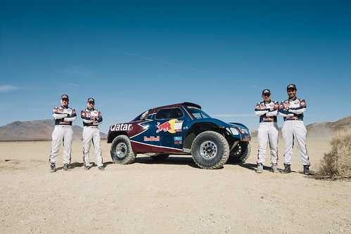 Qatar Red Bull Rally Team sainz al-atiyah