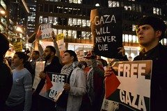 Gaza Demonstration in Chicago