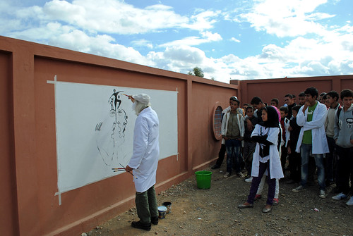 Mural Painting @ Ouled Zerrad