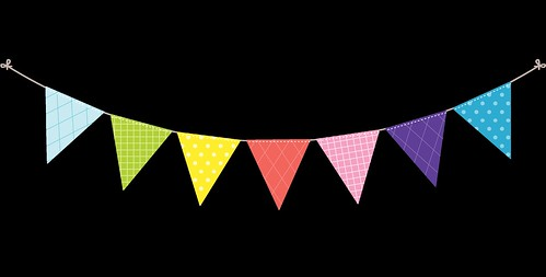 Bunting---Dots-and-Stripes---Rainbow---17