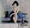 Robert McGinnis - Francesca by uk vintage