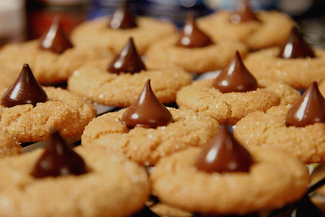 Peanut Butter Blossoms   Flickr - Photo Sharing!