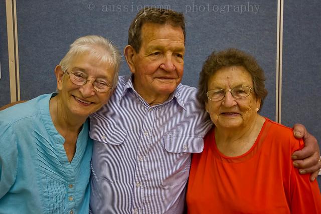 Mum, Uncle Arthur & Aunty Pat