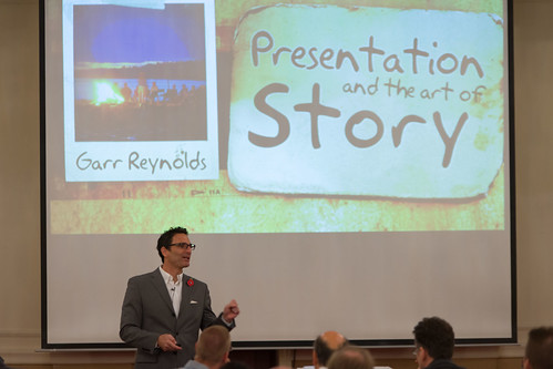 Garr Reynolds – Presentation and the art of Story