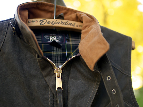 RRL / Oilcloth Vest