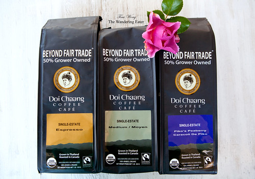 Doi Chaang Coffee: Single estate espresso, Single estate Moyen, and Single Estate PIko's Peaberry coffee beans