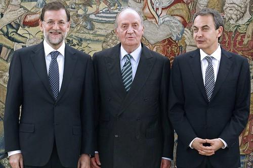 Toma de posesión de Mariano Rajoy como presidente del Gobierno