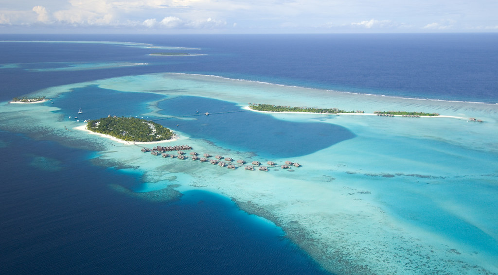 Conrad Maldives_ Aerial view