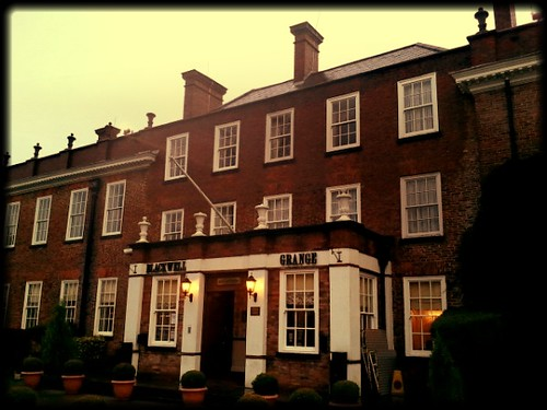 Exterior of Blackwell Grange Hotel Darlington