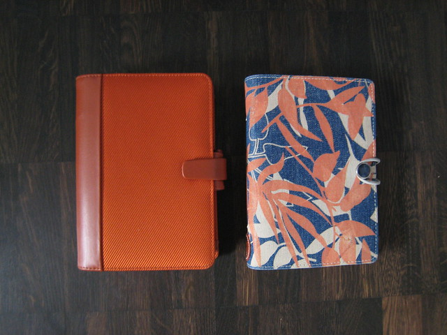 Filofax Colours (6): Orange