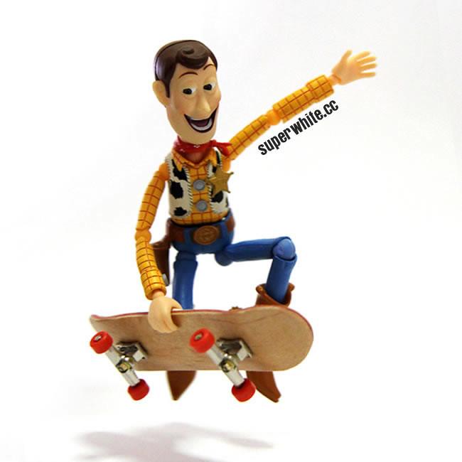 Woody Skateboard Jump