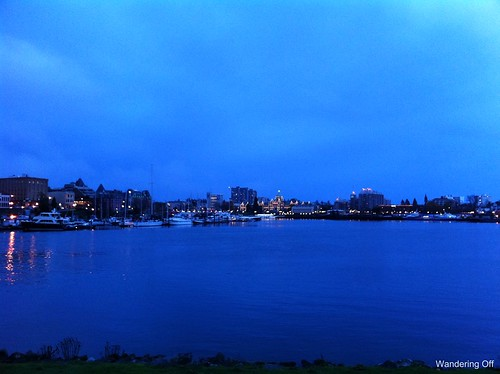Victoria, BC at night