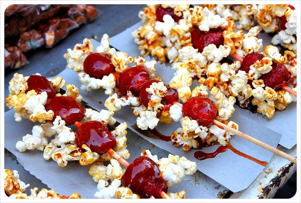 san telmo sunday market popcorn