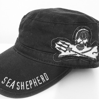 Sea Shepherd Hat // Black Day23 11.23.12