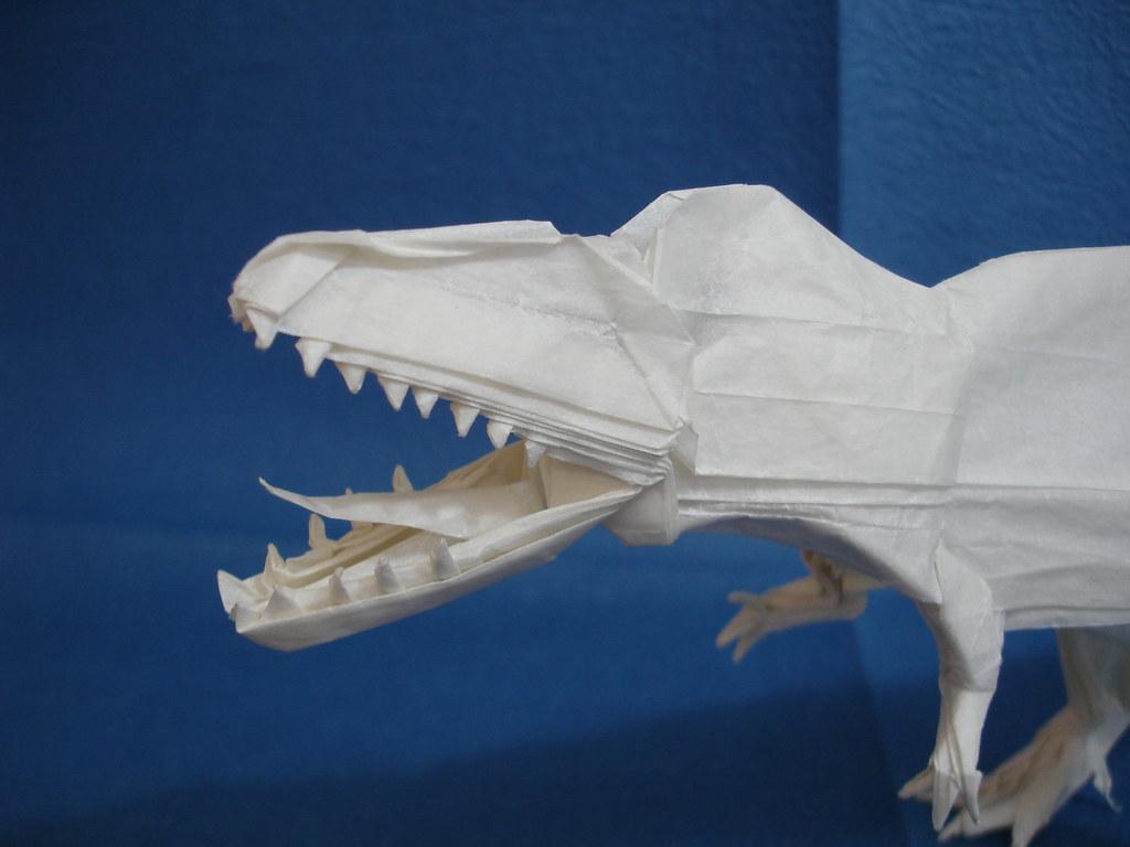 Juan Ignacio Origamis Favorite Flickr Photos Picssr Origami Dinosaur Diagrams Giganotosaurus 30 Head