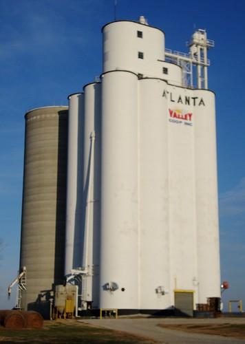 atlanta ks kansas flinthills grainelevators cowleycounty